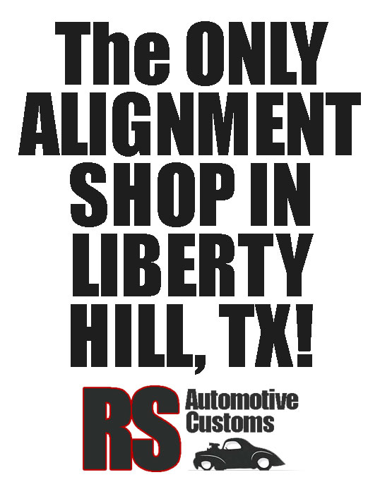 Wheel Alignments Liberty Hill and Leander